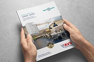 Produktbroschüre SANY SAFE (Aerosolgeräte)